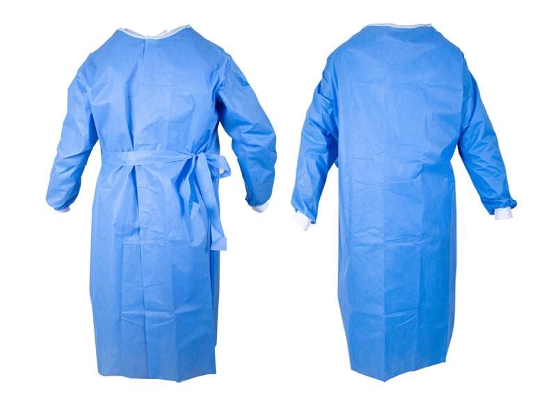 Schutzkittel in Blau von Lieferungen von activaTec® Health Care Products