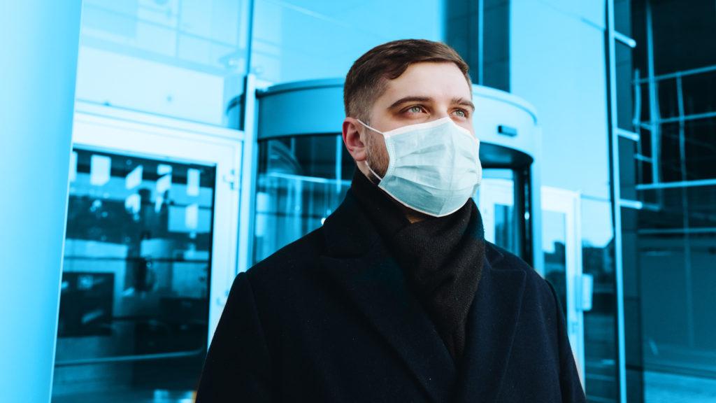 Community-Mask Mundschutz für Privathaushalt