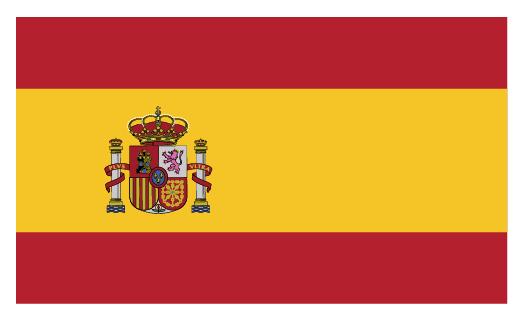 Flagge Spanisch